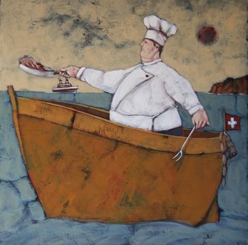 NLR090 il cuoco di bordo